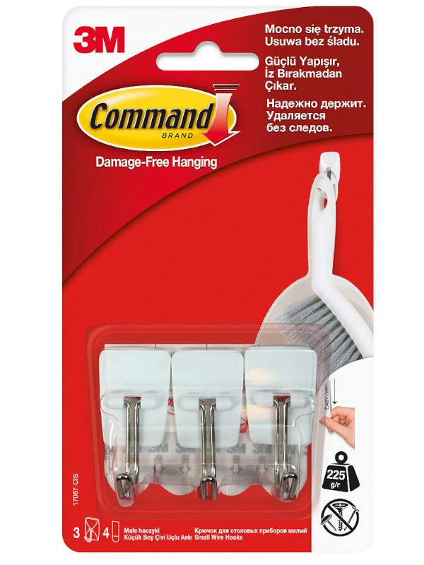 Крючки Command (3шт) 17067