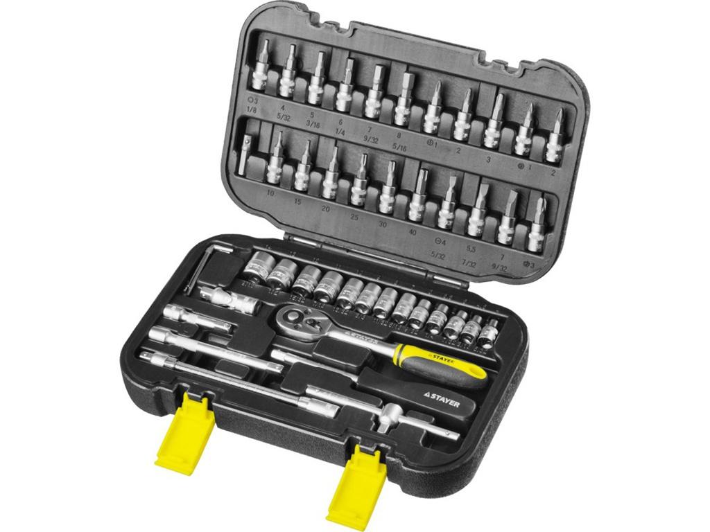 набор инструмента stayer profi 27710 h56 Набор инструмента STAYER 27760-H46