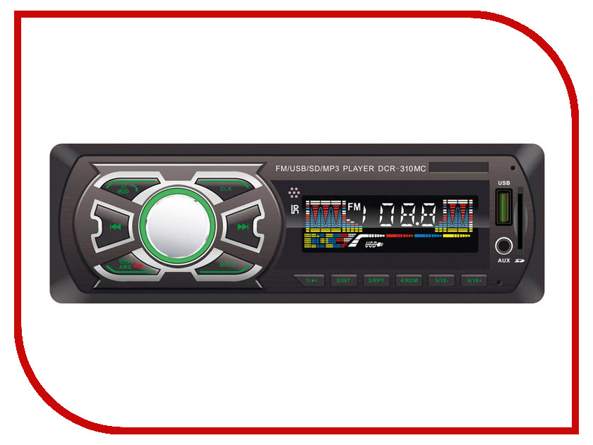 Купить Автомагнитола Digma DCR-310MC