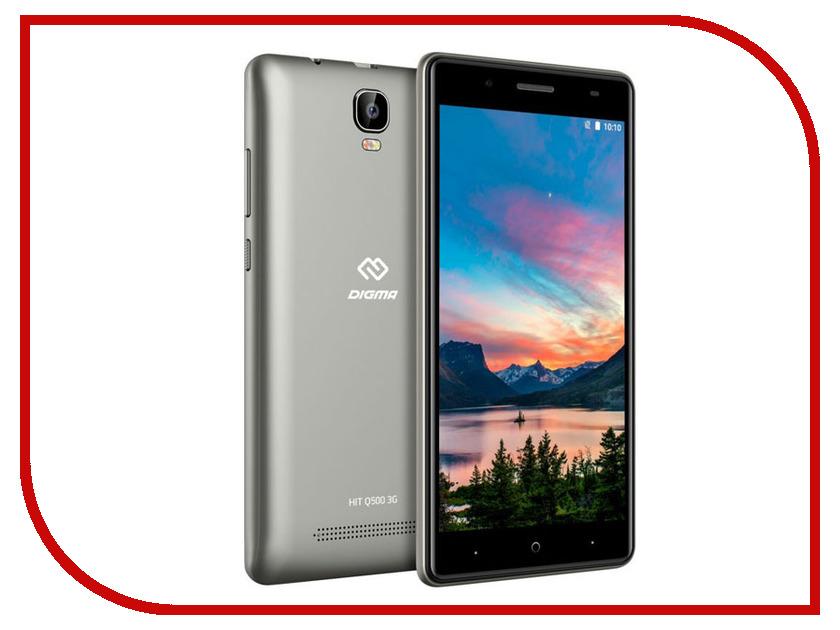 Купить Сотовый телефон Digma HIT Q500 3G Grey, HT5035PG
