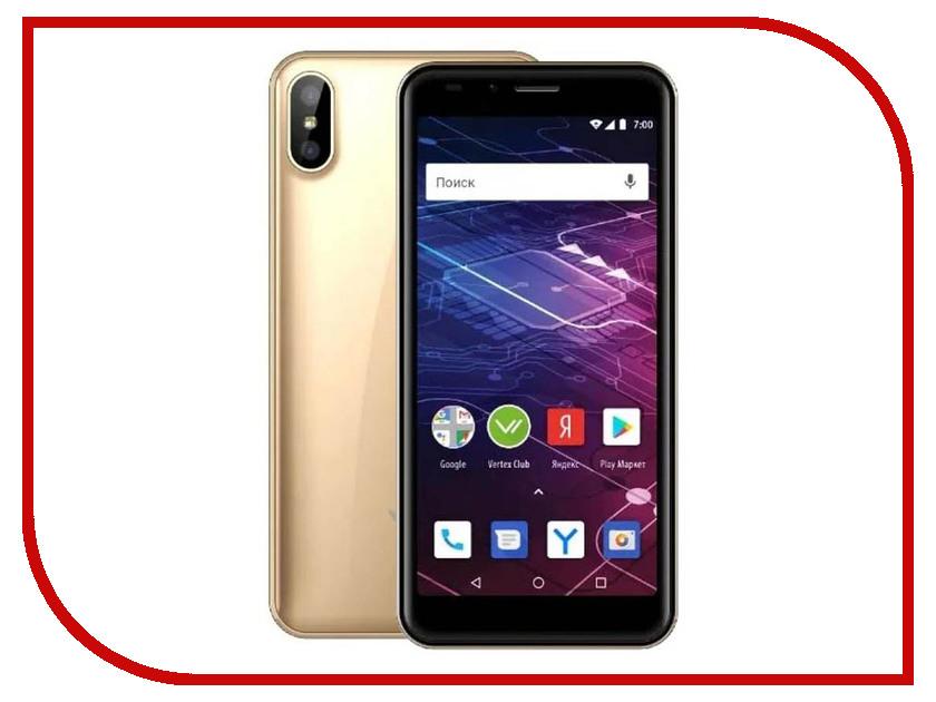 Купить Сотовый телефон VERTEX Impress Click NFC Gold, VCLCKNFCGLD
