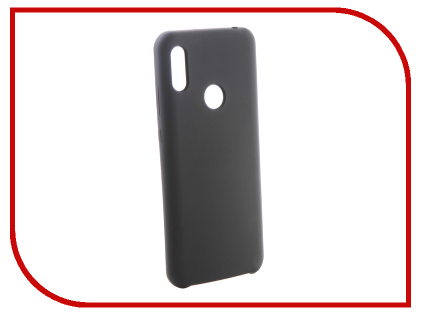 Купить Аксессуар Чехол CaseGuru для Huawei Honor 8A Y6 2019 Soft-Touch 0.5mm Black 105279