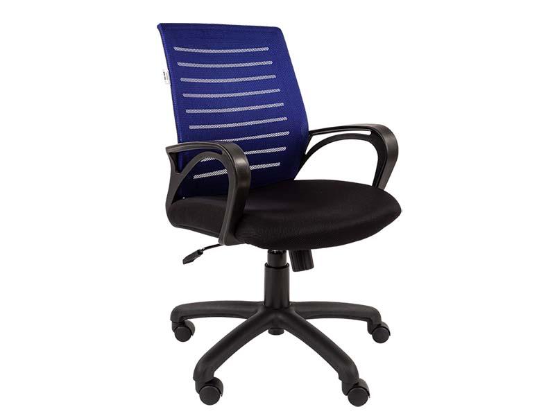купить русские народные сказки Компьютерное кресло Русские кресла РК 16 Blue-Black