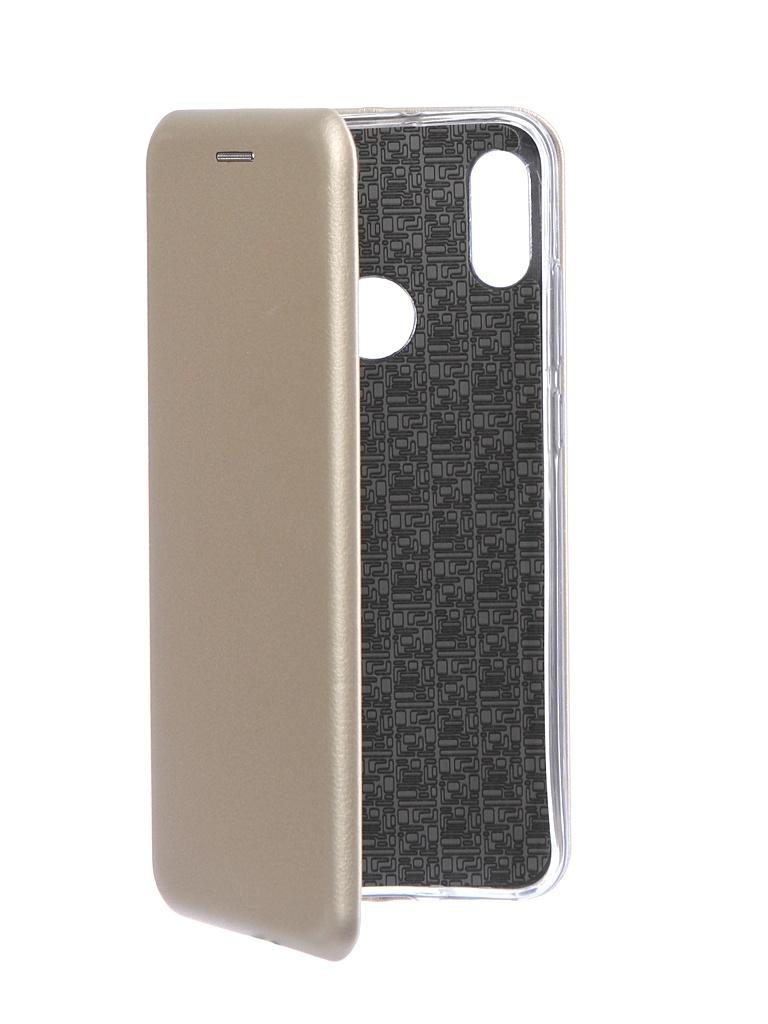 Чехол Neypo для Huawei Y6 2019 Premium Gold NSB11506