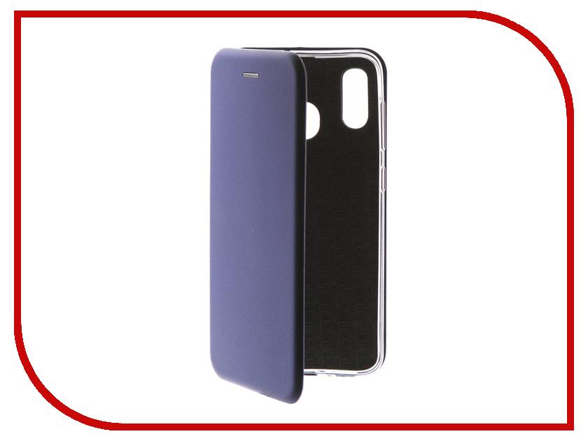 Купить Аксессуар Чехол Neypo для Samsung Galaxy A30 2019 Premium Blue NSB11542