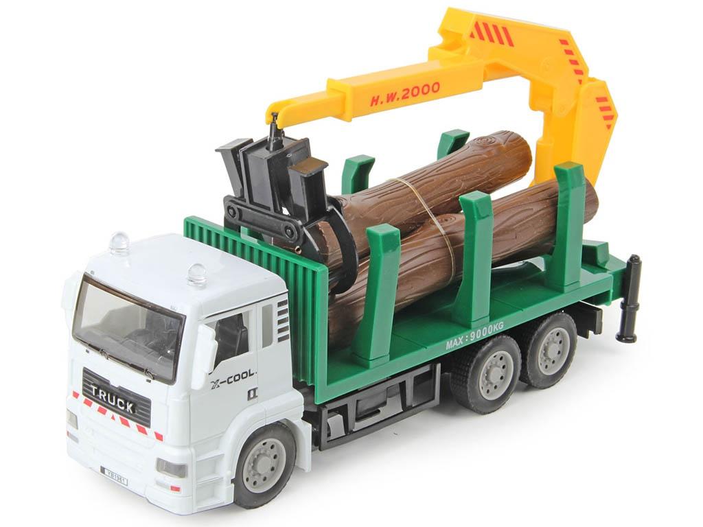 игрушка наша игрушка погрузчик вилочный 6655 7 Игрушка Veld-Co Спецтехника Грейферный погрузчик 70977
