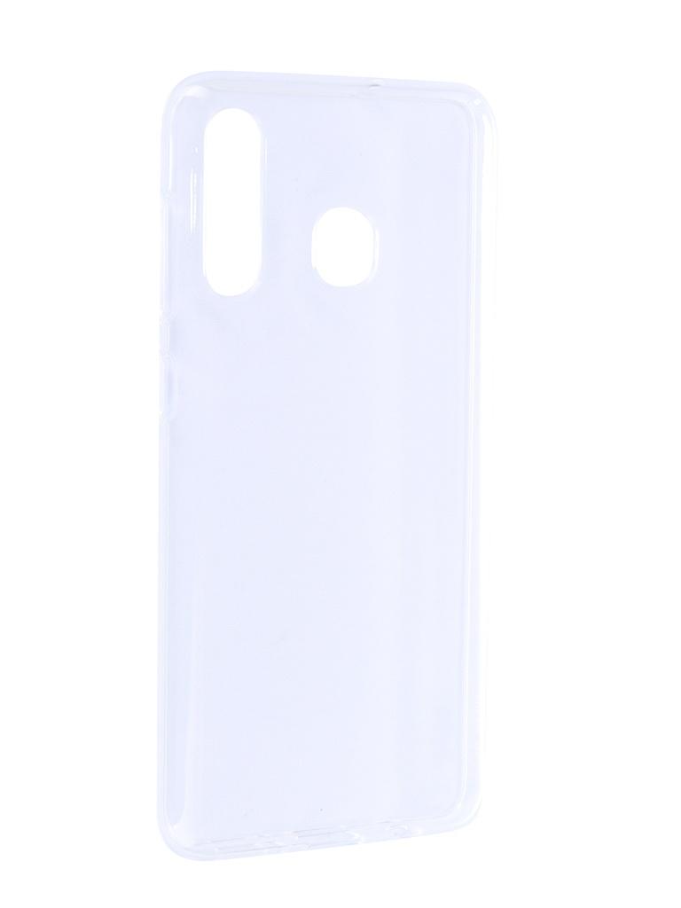 Купить Аксессуар Чехол Brosco для Samsung Galaxy A20 Silicone Transparent SS-A20-TPU-TRANSPARENT