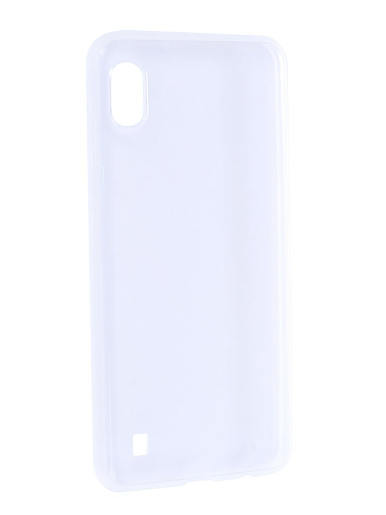 Купить Аксессуар Чехол Brosco для Samsung Galaxy A10 Silicone Transparent SS-A10-TPU-TRANSPARENT