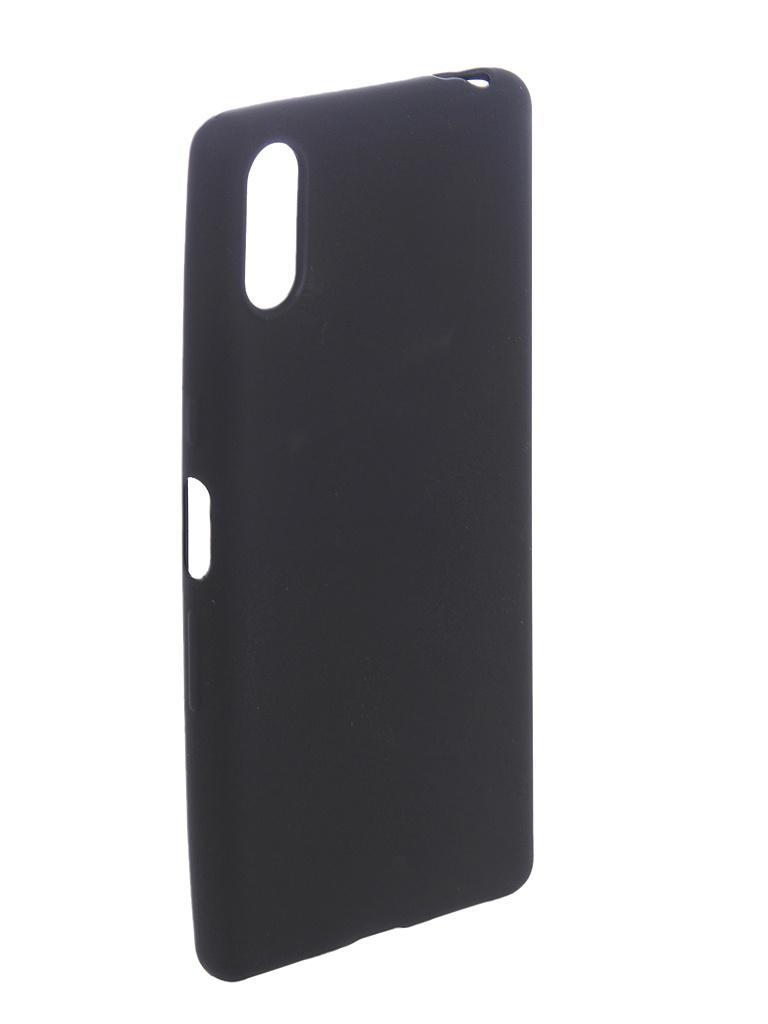 Чехол Brosco для Sony Xperia L3 Black L3-COLOURFUL-BLACK