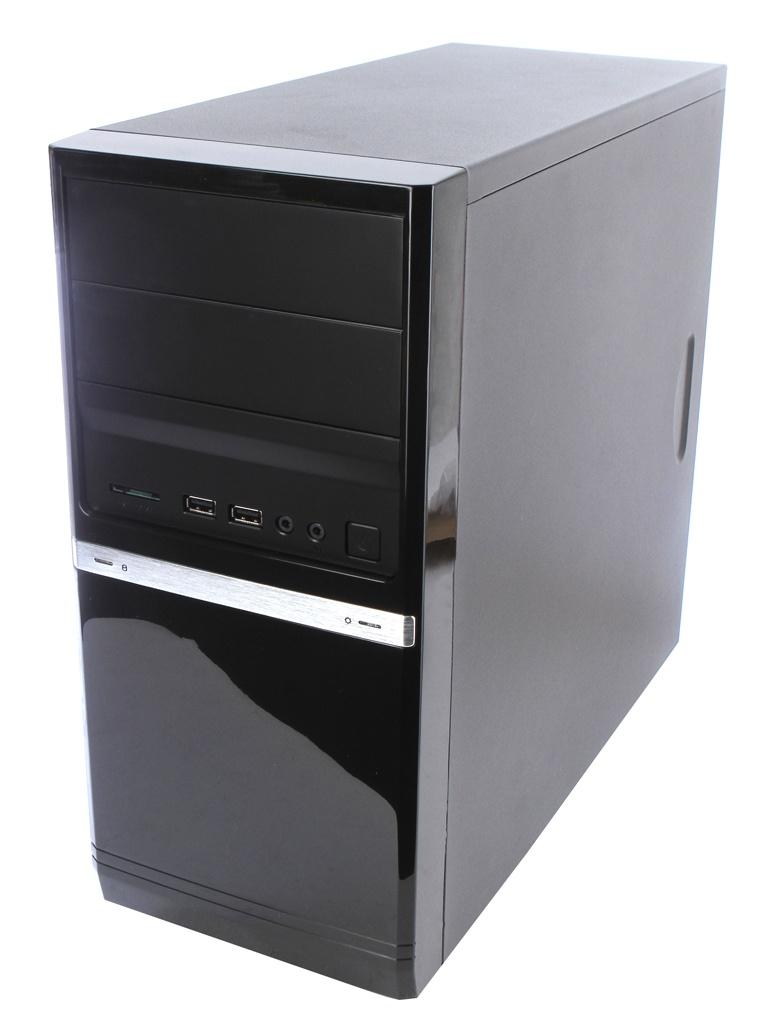 Корпус PowerCool S6006BK 500W, S6006-500W  - купить со скидкой