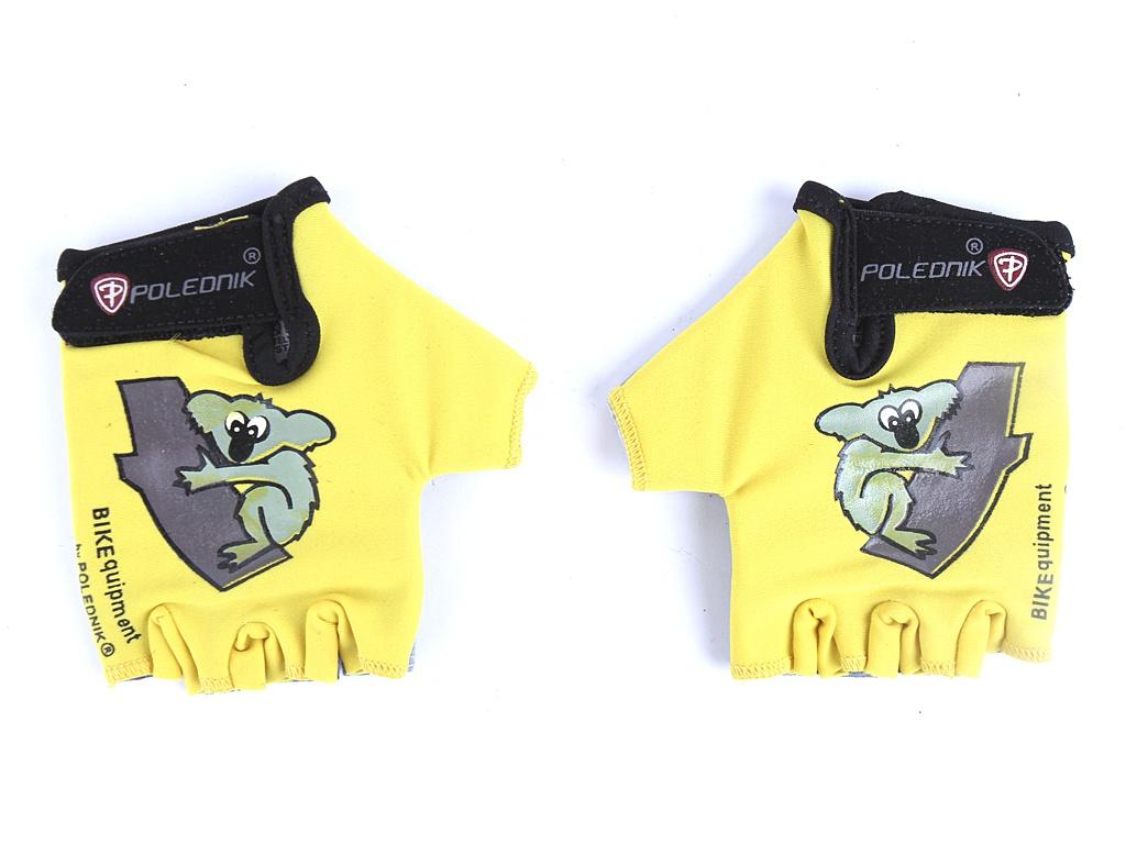 велоперчатки polednik f 3 р 8 s blue pol f 3 s blu Велоперчатки Polednik Baby р.3 Yellow POL_Baby_3_YLW