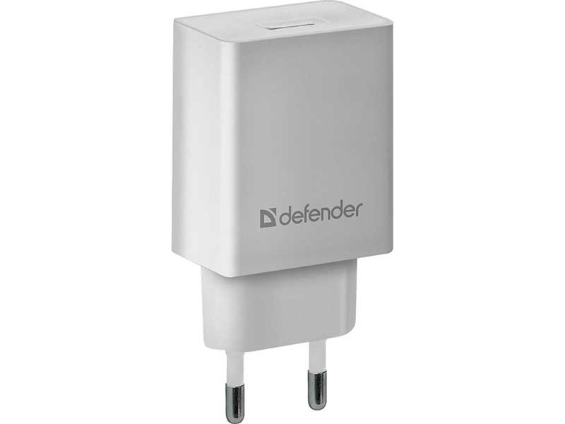 Зарядное устройство Defender EPA-10 1хUSB White 83549