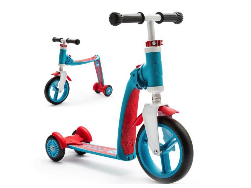 велоперчатки polednik baby р 5 red pol baby 5 red Самокат Scoot&Ride Highway Baby Plus Blue-Red