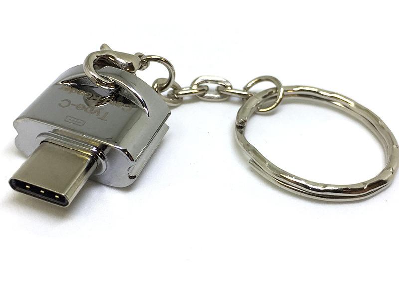 Фото - Карт-ридер Espada USB type-C to MicroSD/TF ESP-CSD карт ридер earldom et ot31 lightning microusb type c microsd sd