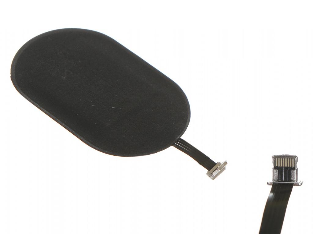Зарядное устройство Baseus Microfiber Wireless Charging Receiver For APPLE iPhone Black WXTE-A01