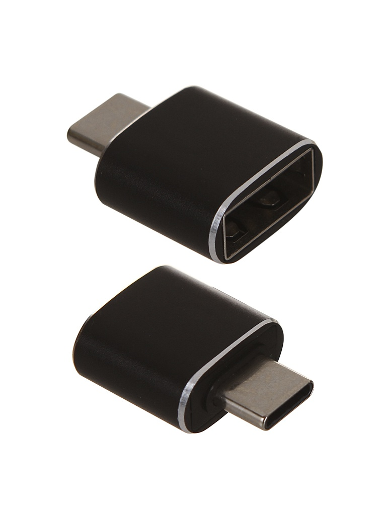 Аксессуар Baseus USB Female - Type-C Male Adapter Converter Black CATOTG-01 аксессуар baseus lightning male to 3 5mm female adapter l3 5 black call3 01