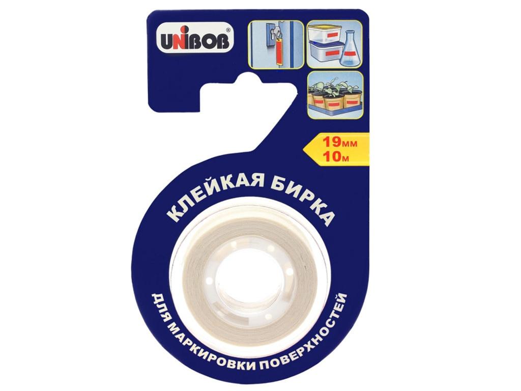 Купить Лента Клейкая бирка Unibob 19mm x 10m 51727