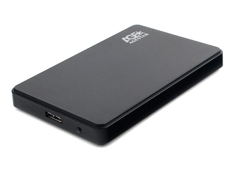 Купить Внешний корпус AgeStar для HDD/SSD 3UB2P2 Black