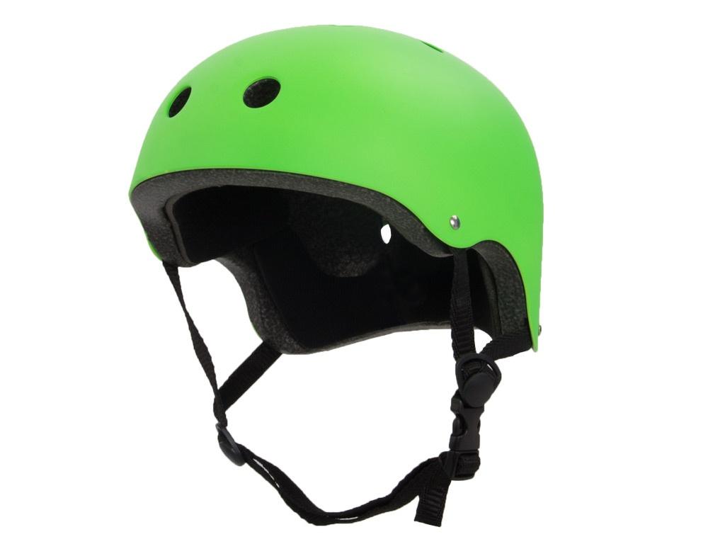 самокат larsen wave shine green Шлем Larsen Special H4 Размер S (52-54cm) Light Green