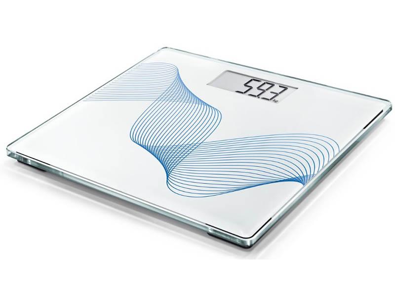 весы напольные soehnle shape sense control 200 white 63858 Весы напольные Soehnle Style Sense Compact 300 Pure Blue 63847