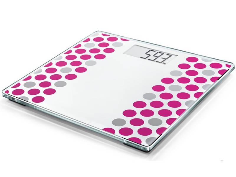 весы напольные soehnle shape sense control 200 white 63858 Весы напольные Soehnle Style Sense Compact 300 Crazy Pink 63846