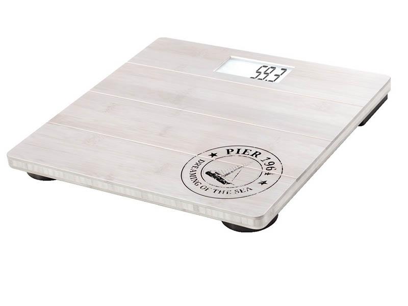 весы напольные soehnle shape sense control 200 white 63858 Весы напольные Soehnle Bamboo Natural White 63845