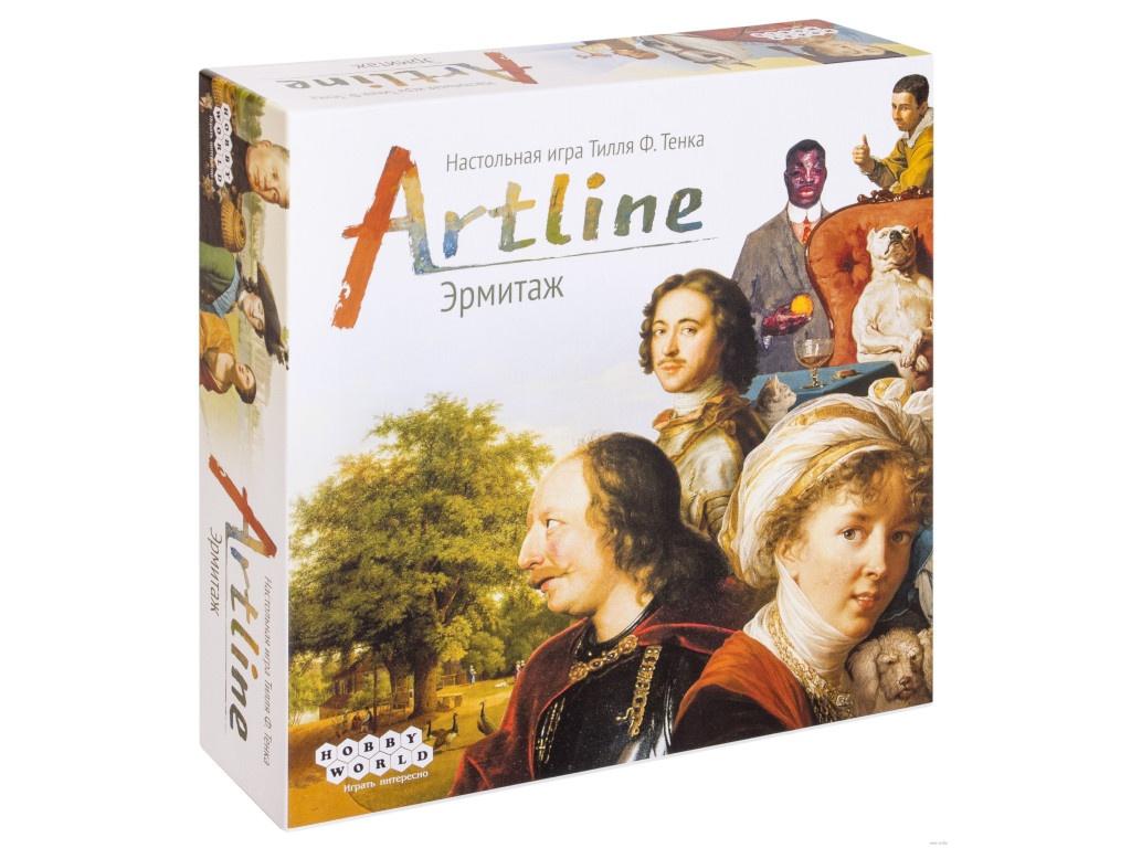 Настольная игра Hobby World Artline: Эрмитаж 915057  - купить со скидкой