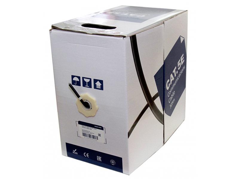Сетевой кабель 5bites FTP / SOLID 5E CCAG PE BLACK OUTDOOR 305M FS5500-305APE