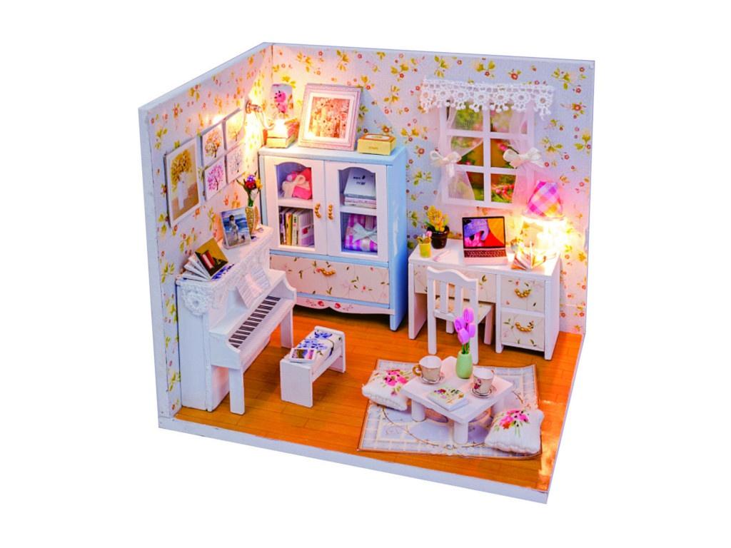 Сборная модель DIY House MiniHouse Комната Александры M011