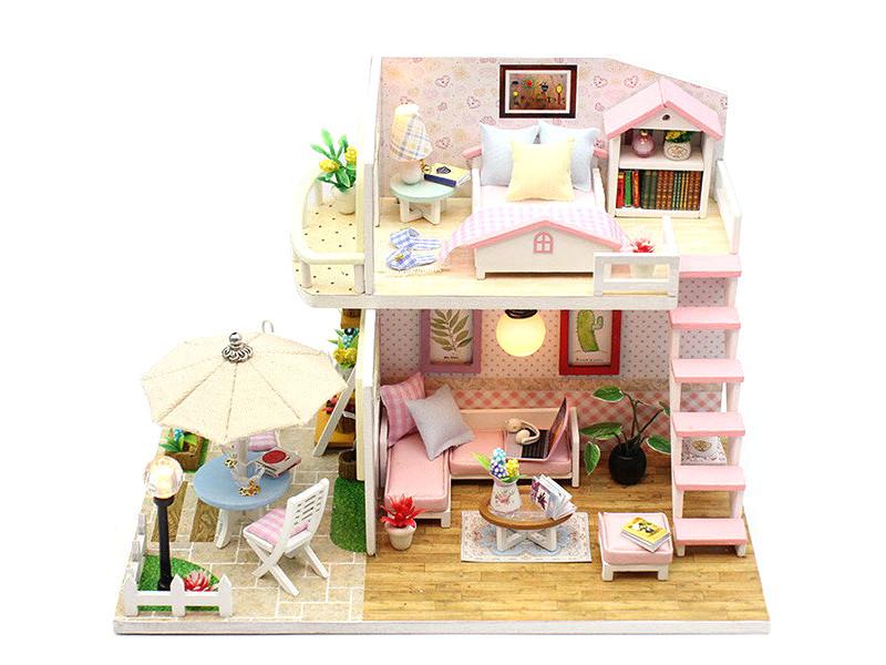 Сборная модель DIY House MiniHouse Розовая мечта M033