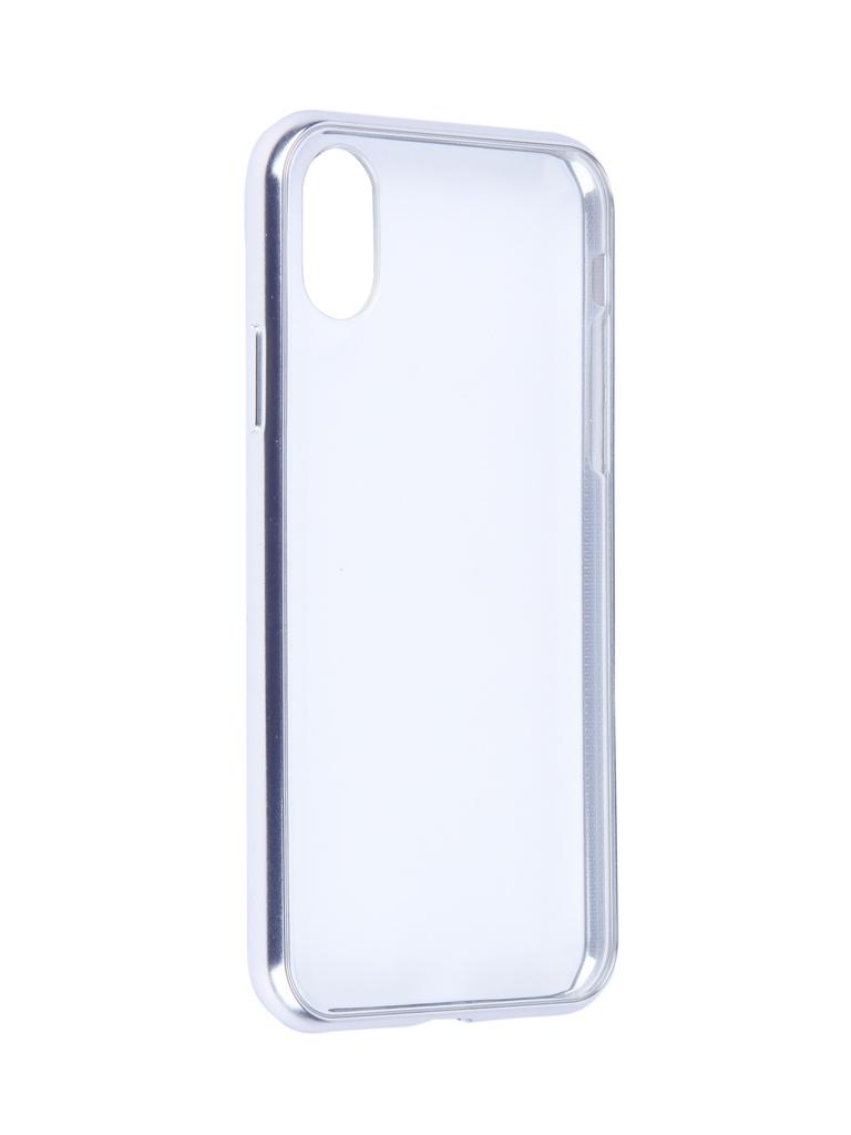 Купить Аксессуар Чехол Moshi для APPLE iPhone X / XS Vitros Jet Silver 99MO103201