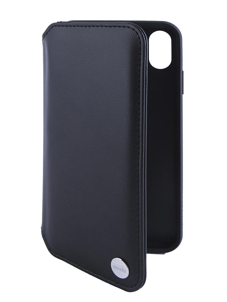 Купить Аксессуар Чехол Moshi для APPLE iPhone XS Max Overture Charcoal Black 99MO091011