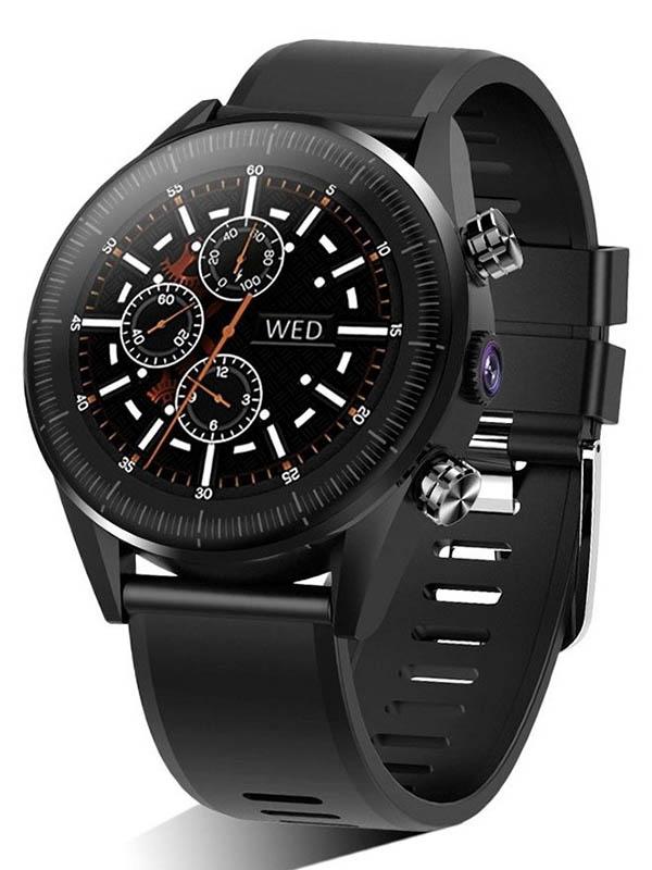 умные часы kingwear kw18 silver Умные часы KingWear KC05 Black
