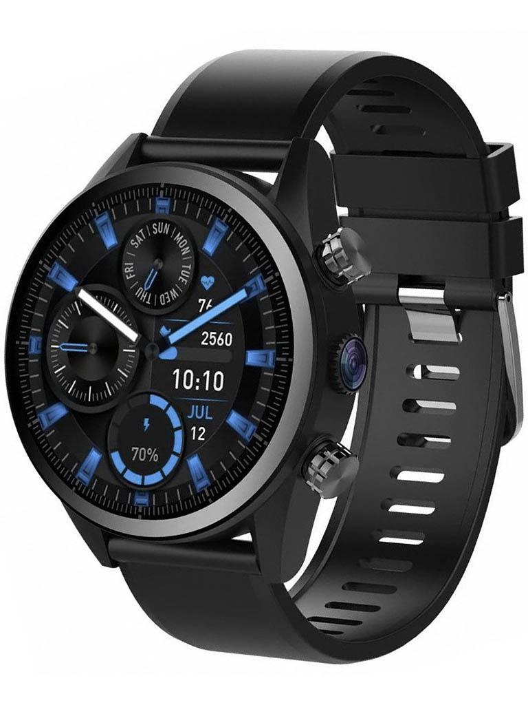умные часы kingwear kw18 silver Умные часы KingWear KC08 Black