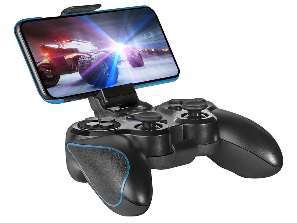 Геймпад Defender Blast Black-Blue 64285