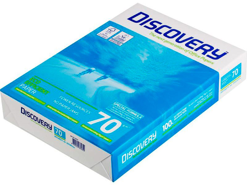 Бумага Navigator Paper Discovery A4 70g/m2 500 листов
