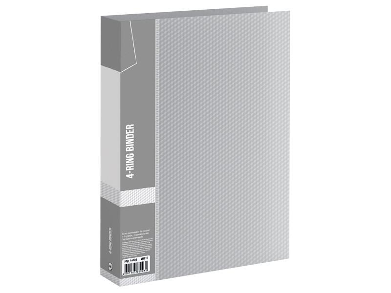 папка berlingo silver a4 380x280x50mm grey metallic adb 04028 Папка Berlingo Diamond 40mm Colorless ABp_44000