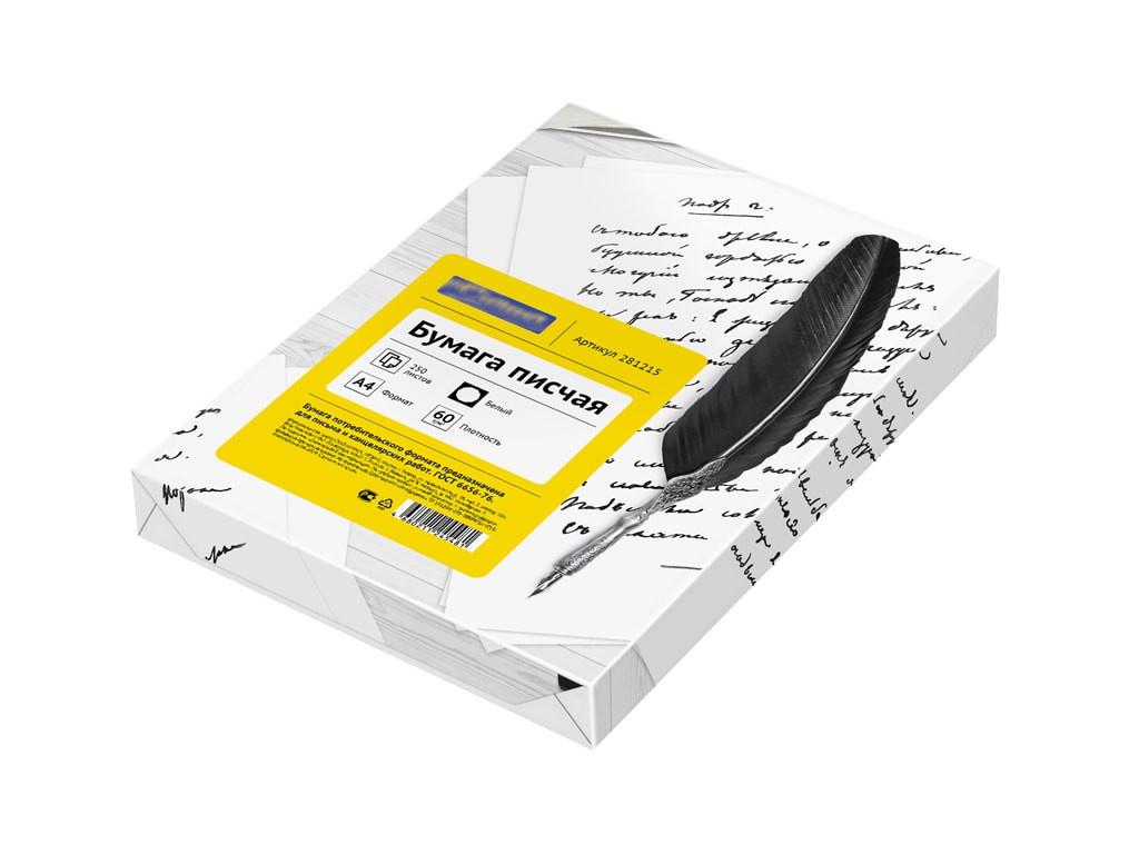 Бумага писчая ArtSpace OfficeSpace А4 60g/m2 250 листов OS4-250-60