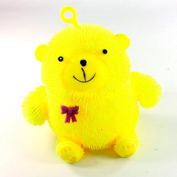 игрушка азбукварик мишка косолапый 4680019281858 Игрушка антистресс Good Mood Мишка Йо-Йо А3111 Yellow
