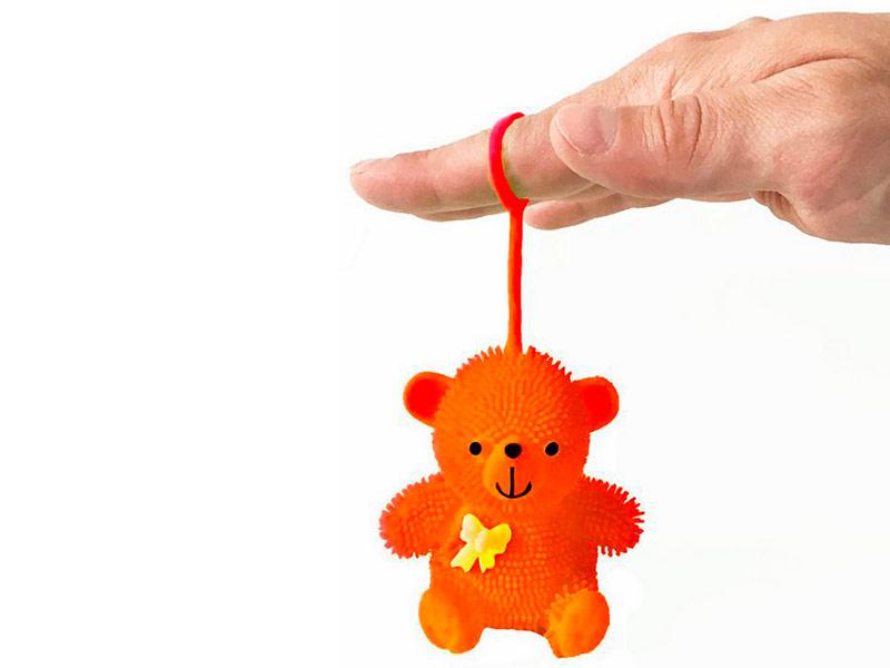 игрушка азбукварик мишка косолапый 4680019281858 Игрушка антистресс Good Mood Мишка Йо-Йо А0961 Orange