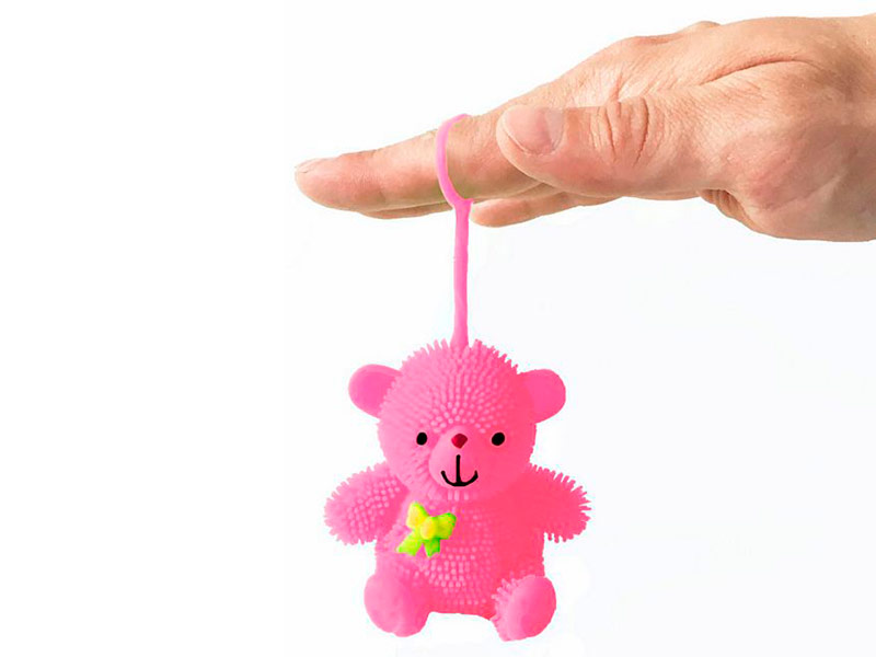 игрушка азбукварик мишка косолапый 4680019281858 Игрушка антистресс Good Mood Мишка Йо-Йо А3128 Pink