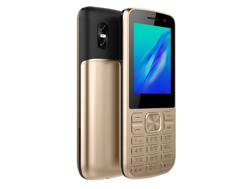 4020101 телефон Сотовый телефон Olmio M22 Gold