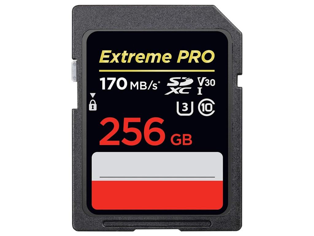 Фото - Карта памяти 256Gb - SanDisk Extreme Pro - Secure Digital XC Class 10 UHS-I U3 V30 SDSDXXY-256G-GN4IN карта памяти 256gb sandisk extreme pro secure digital xc
