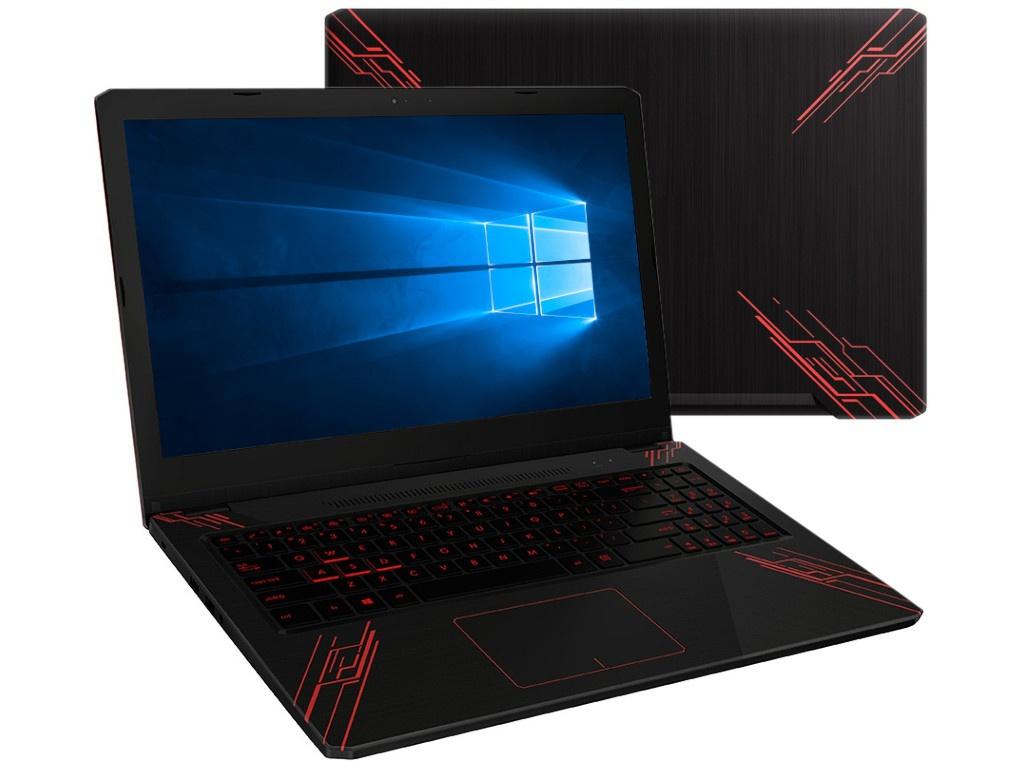 Купить Ноутбук ASUS TUF FX570UD-DM189T 90NB0IX1-M02480 (Intel Core i5-8250U 1.6 GHz/6144Mb/1000Gb+128Gb SSD/nVidia GeForce GTX 1050 2048Mb/Wi-Fi/Bluetooth/Cam/15.6/1920x1080/Windows 10 Home 64-bit)