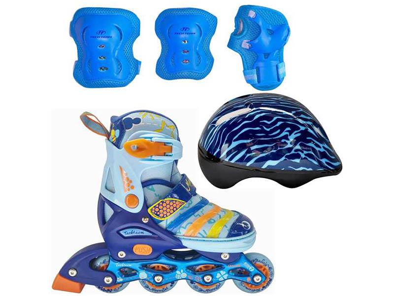 купить коньки граф Коньки Tech Team Maya Set р.27-30 Blue