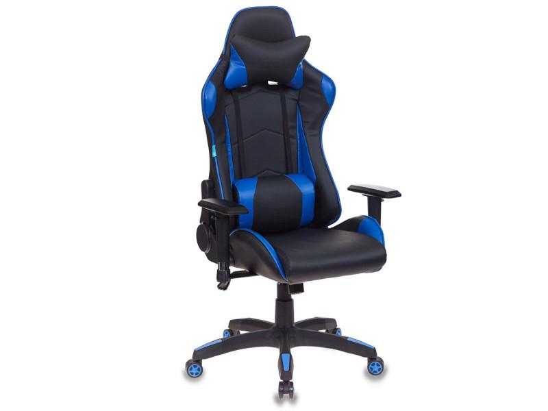 компьютерное кресло бюрократ ch 479 brown 1111448 Компьютерное кресло Бюрократ CH-778 Black-Blue