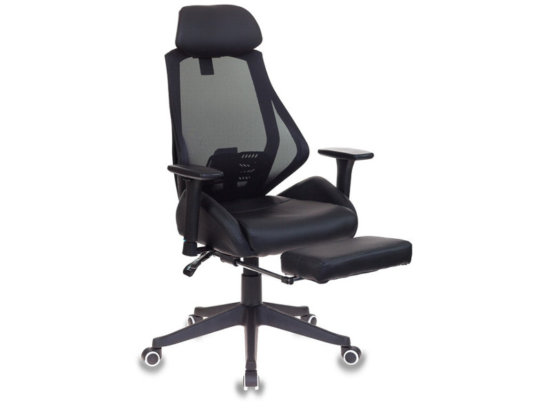 компьютерное кресло бюрократ ch 479 brown 1111448 Компьютерное кресло Бюрократ CH-770 Black