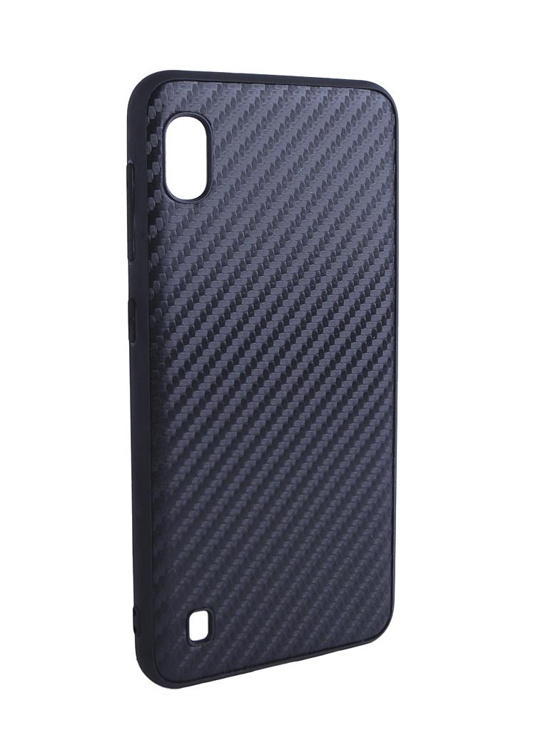 Купить Аксессуар Чехол G-Case для Samsung Galaxy A10 SM-A105F Carbon Black GG-1069
