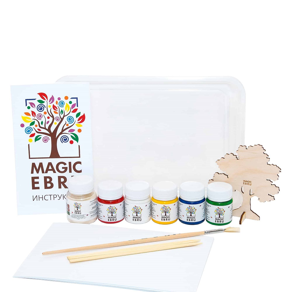 элефантино игрушки для малышей Набор для рисования на воде Игрушки под подушкой Magic Ebru Start