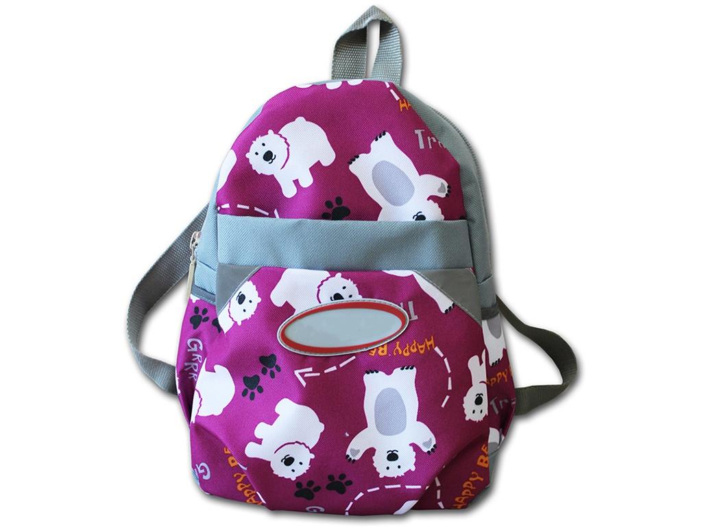 велоперчатки polednik baby р 5 grey pol baby 5 gre Рюкзак Belon Мишки на розовом Р-2/5